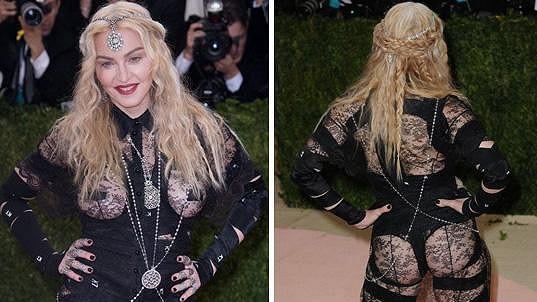 Madonna si Met Gala spletla se setkáním holek z vykřičené čtvrti.