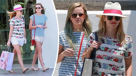 Reese a Ava působí jako dvojčata.