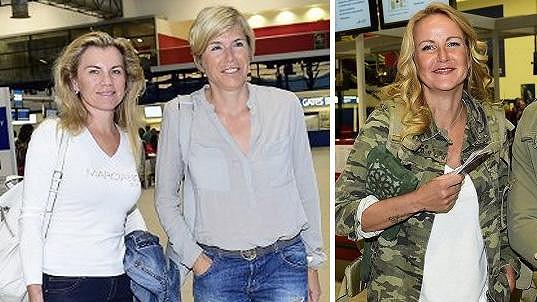 Leona Machálková, Kateřina Neumannová a Vendula Pizingerová