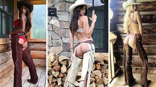 Sexy andílci ve westernovém stylu