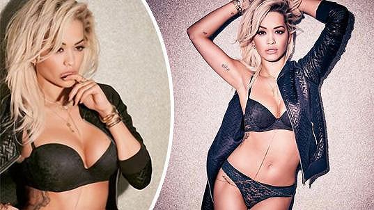 Rita Ora vystavila své sexy křivky.