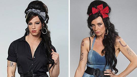 Amy Winehouse v proměně Milana Peroutky a Ivany Chýlkové