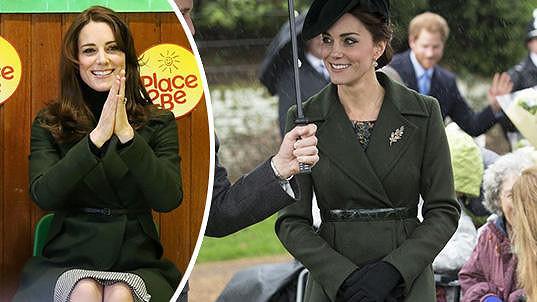 Catherine opět oblékla slušivý kabátek Max Mara a udělala dobře...
