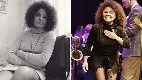 Jitka v roce 1971 a dnes. Mnoho rozdílů na fotkách nenajdete.