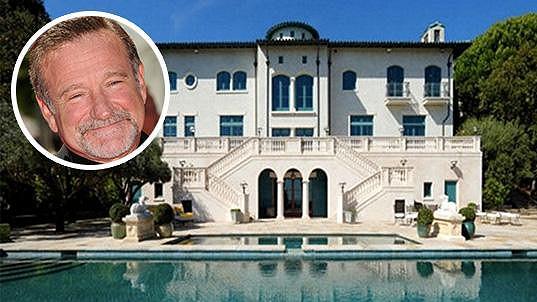 Nemovitost po Robinu Williamsovi
