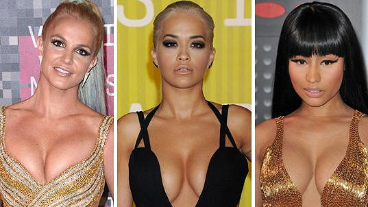 Udílení MTV Video Music Awards bylo přehlídkou ňader.