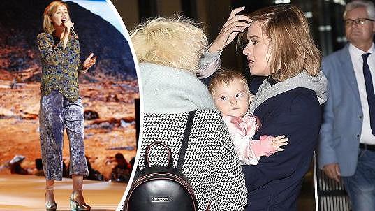 Emma zvládá mateřství i práci.