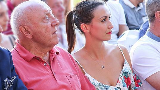 Lucie Gelemová a Felix Slováček zamířili společně na koncert.