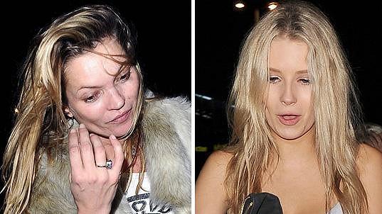 Kate Moss a Lottie Moss