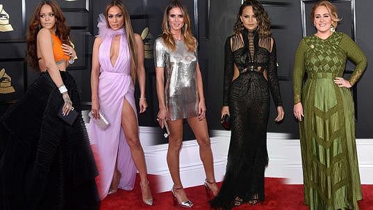 Zde je výběr těch nejlepších modelů z udílení Grammy, které si zamilujete.