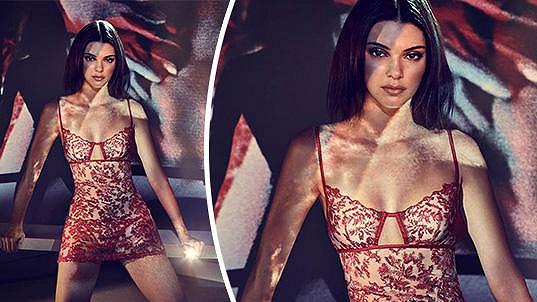 Kendall Jenner pro značku LaPerla