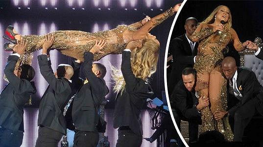 Mariah Carey nejspíš doma nemá zrcadlo ani váhu.