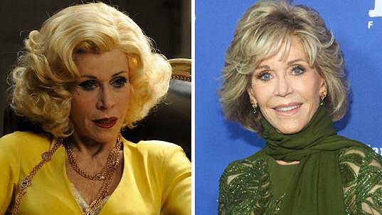 Jane Fonda je ve skutečnosti mnohem krásnější než na filmovém plátně.