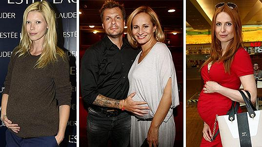 S těhotenstvím celebrit se letos roztrhl pytel.
