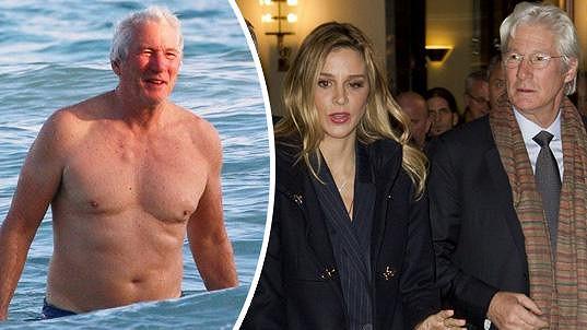 Richard Gere ulovil o 34 let mladší přítelkyni.