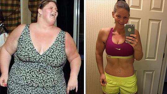 Michele zhubla 95 kilogramů.