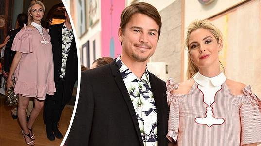 Josh Hartnett s partnerkou Tamsin Egerton čekají druhé dítě.