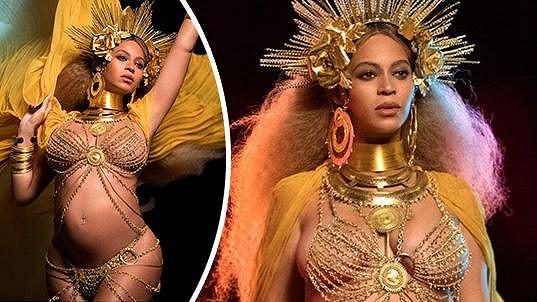 Beyoncé se představila v neděli na udílení Grammy.