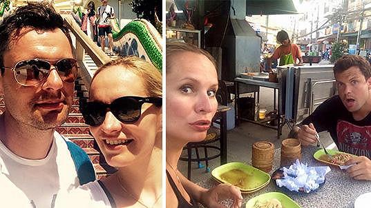 Monika Absolonová si užívá dovolenou v Thajsku.