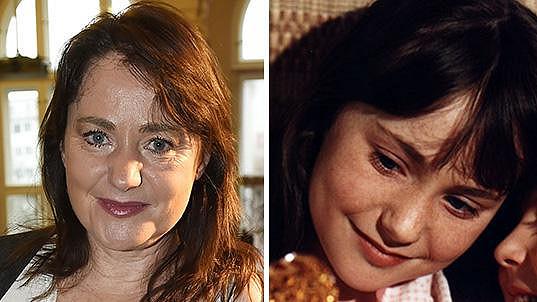 Miriam Chytilová dnes a v době, kdy hrála v oblíbeném dětském seriálu.