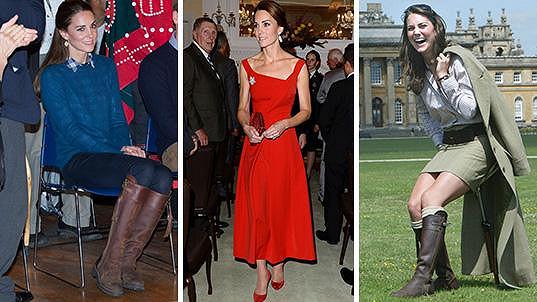 Vévodkyně z Cambridge si do Kanady vzala kromě mnoha krásných šatů i oblíbené boty...