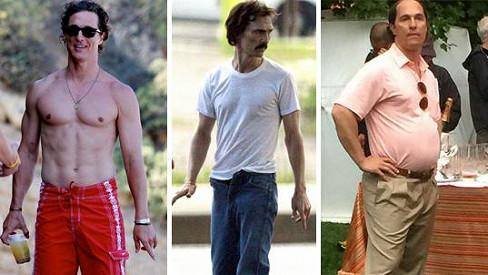 Takhle neuvěřitelně se Matthew McConaughey proměnil během pěti let.