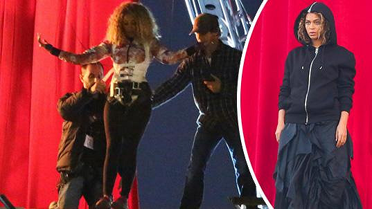 Beyoncé se nechala zastoupit...