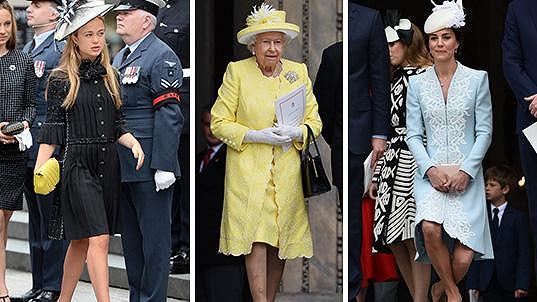 Na narozeninách královny Alžběty II. nechyběly vévodkyně Catherine ani Lady Amelia Windsor.