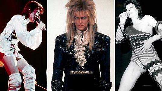 David Bowie byl nepřehlédnutelný.