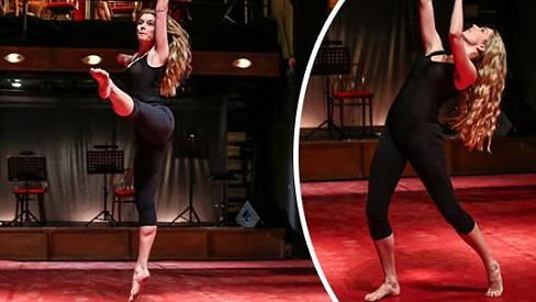 Henrieta Hornáčková je vášnivou tanečnicí.