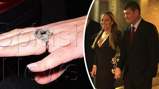 Mariah Carey už nenosí poklad jen v hrdle...