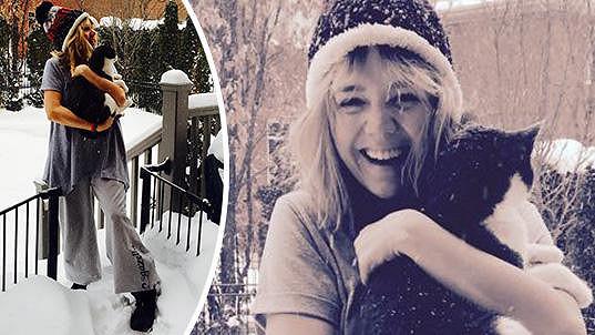 Lucie Vondráčková si už na kanadské mrazy zvykla.