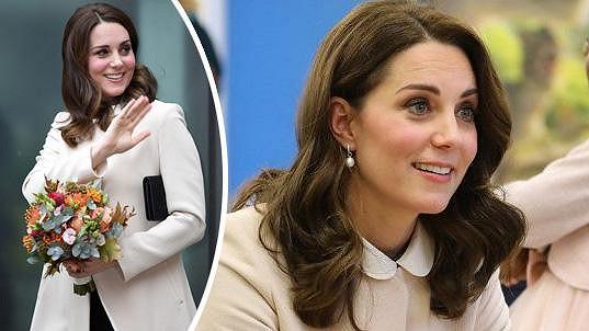 Vévodkyně byla v dobré náladě.