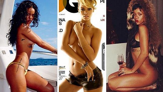 Rihanna je zkušená odhalovačka.