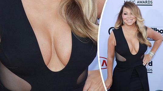Mariah Carey ukázala své vnady.