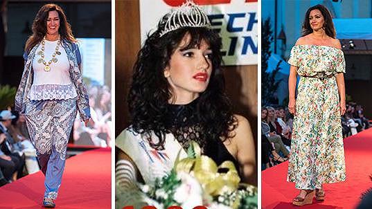 Bývalá Miss Karin Majtánová pořád září na přehlídkovém mole.