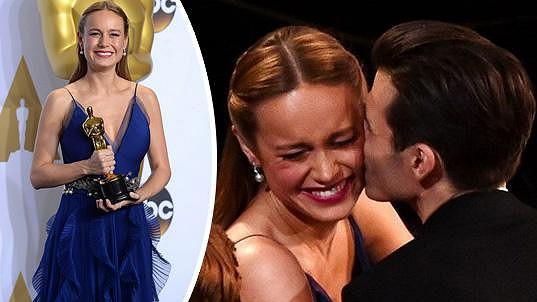 Brie Larson je šťastně zadaná.