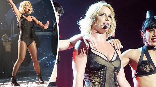 Britney Spears je opět ve formě.