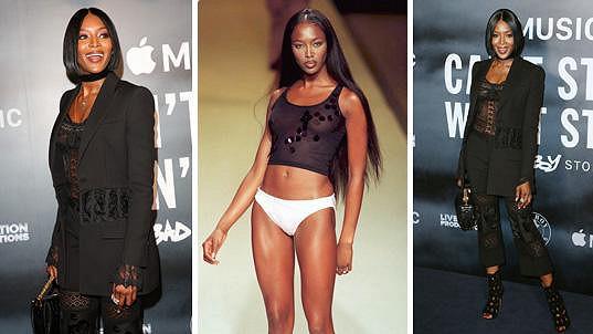 Kdysi nejdražší topmodelka světa Naomi Campbell (46)