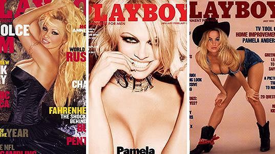 Pamela Anderson často zdobila titulky Playboye.