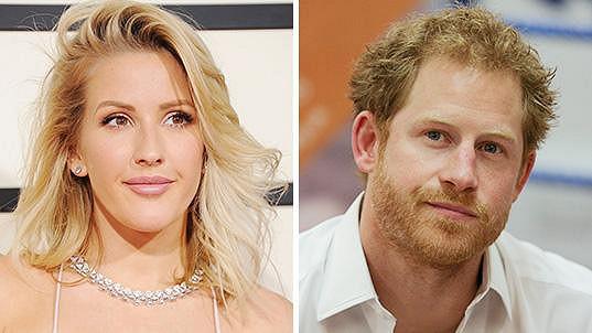 Princ Harry se údajně dvoří zpěvačce Ellie Goulding.