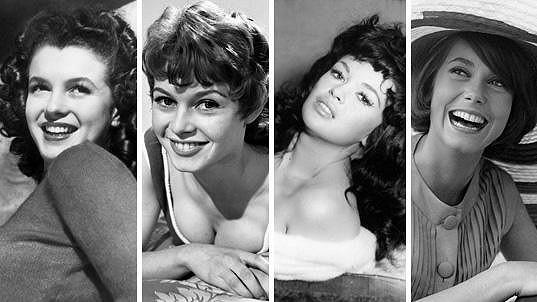 Tyhle herečky svět miloval s blond kadeřemi....