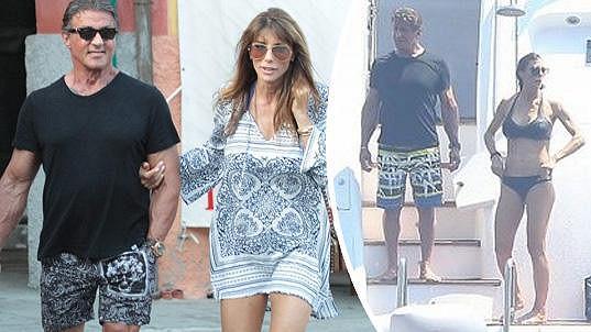 Sylvester Stallone má dokonalou manželku.