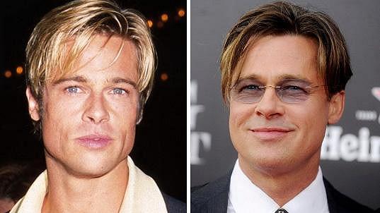 Brad Pitt téměř nestárne.