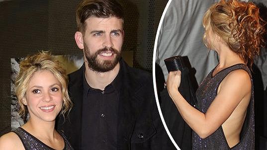 Shakira doprovodila partnera na udílení sportovních cen.