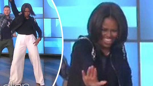 Michelle Obama to umí rozjet!