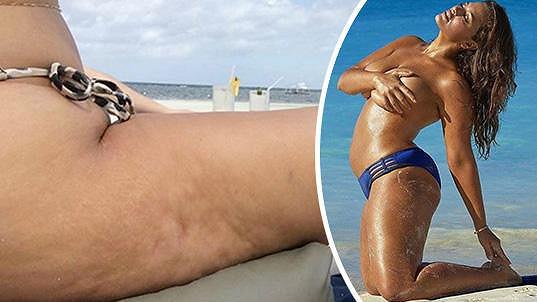 Ashley Graham cvičí a zdravě se stravuje, přesto není žádná vychrtlina.