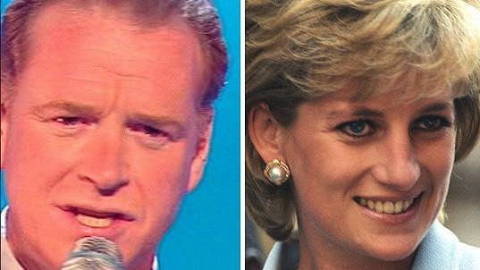 James Hewitt a princezna Diana