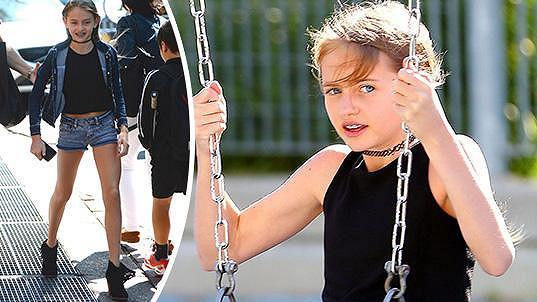 Dceru Leni má modelka s Flaviem Briatorem.