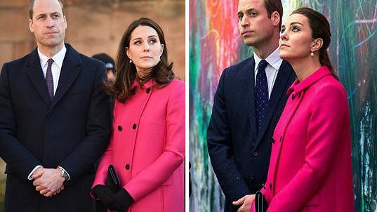 Tyto fotky Kate a Williama od sebe dělí více než tři roky.